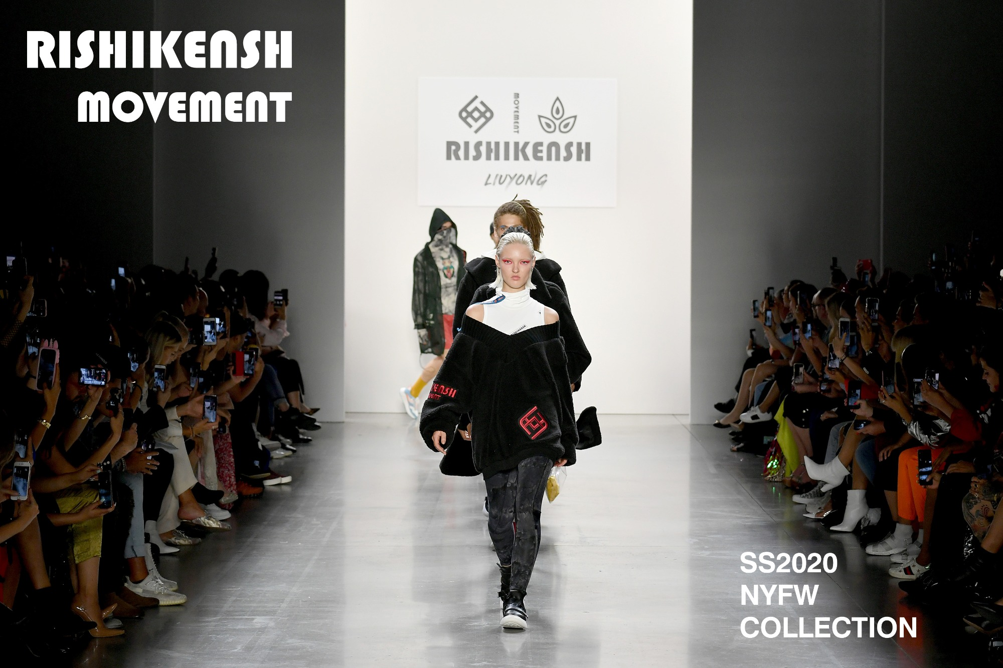 LIUYONG X RISHIKENSH Fashion Show Successfully Held at NYFW