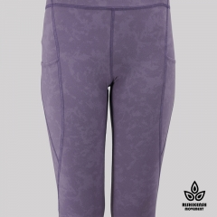 Speed Up High-Rise Yoga Tights in Purple Speed Up