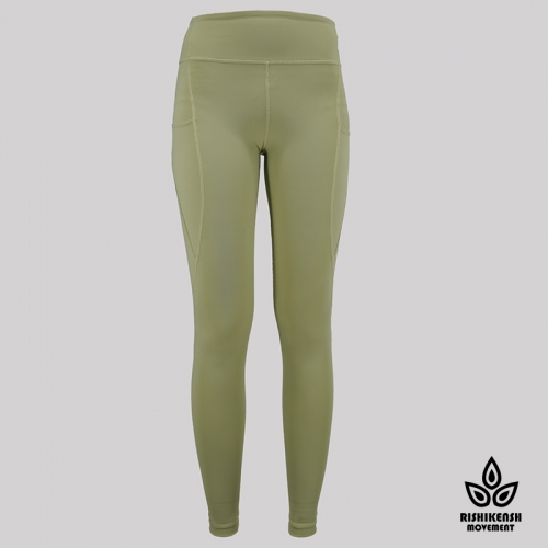 Speed Up High-Rise Yoga Tights in Light OLive