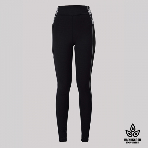 Power Stretchy Leggings with Contrast Color Details