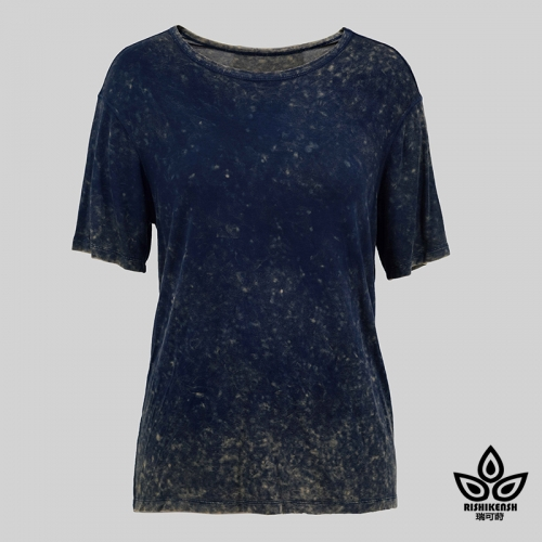 Summer Dreams Washed Round-Neck Tee